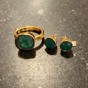 Coach Emerald Gem Ring